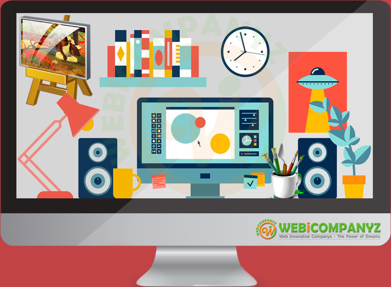 WebiCompanyz - Best Graphic Designing Company in India