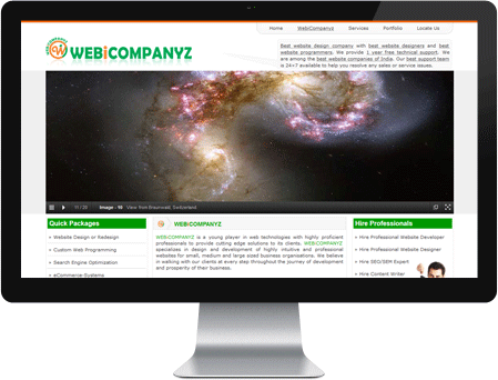Webicompanyz - Web Designing and Development Services Provider Company
